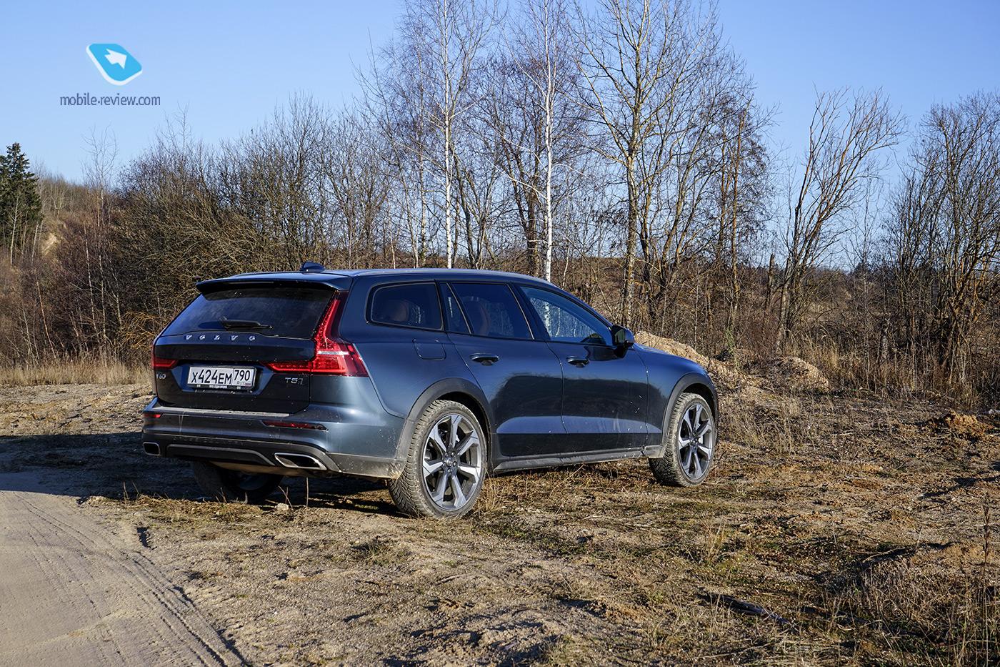 Тест Volvo V60 Cross Country. Практичный универсал