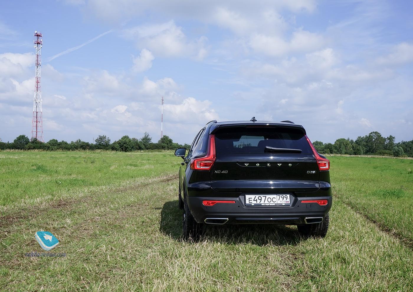 Тест Volvo XC40. Лучший компактный кроссовер?