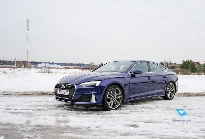 Тест Audi A5 Sportback 2020. Новый, но не совсем