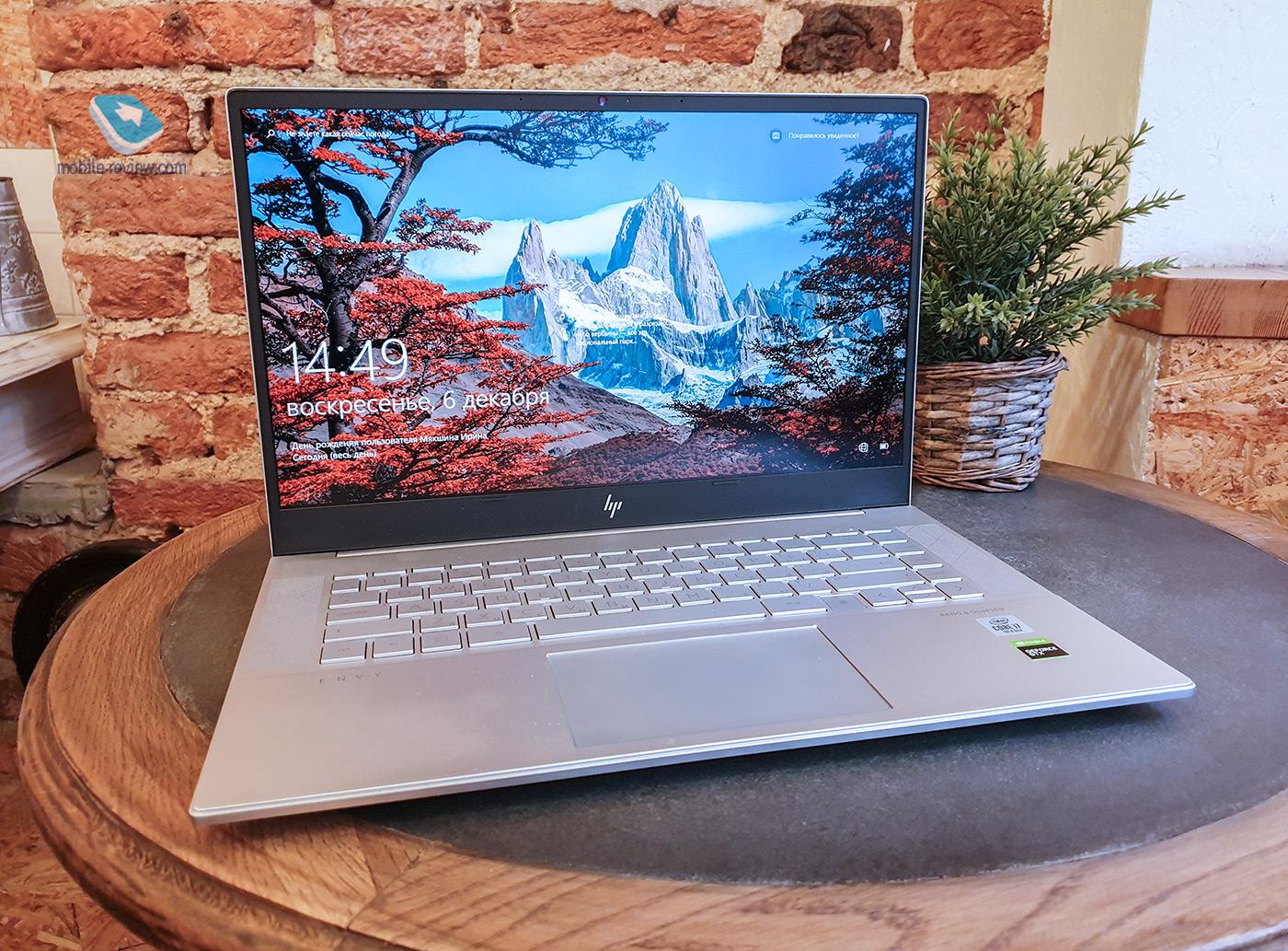 Обзор HP ENVY 15: почти идеальный универсальный лэптоп