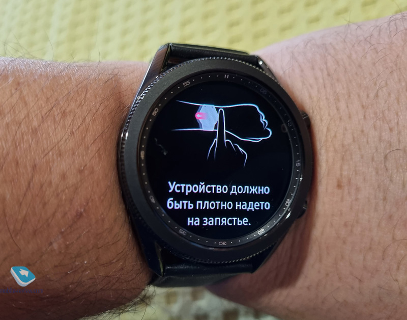 Измерение артериального давления и ЭКГ на Samsung Galaxy Watch 3