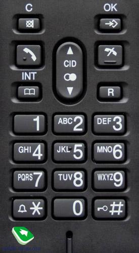 Телефон Panasonic Kx Tga161ru инструкция - картинка 2