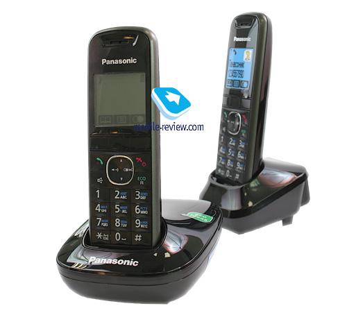 Mobile-review.com Обзор DECT-телефона Panasonic KX-TG5512