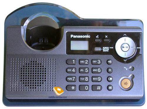 -радиотелефон panasonic kx-tcd345: