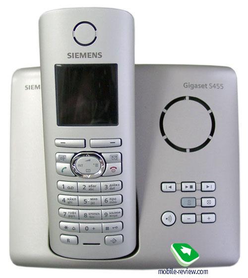 Беспроводной телефон Siemens