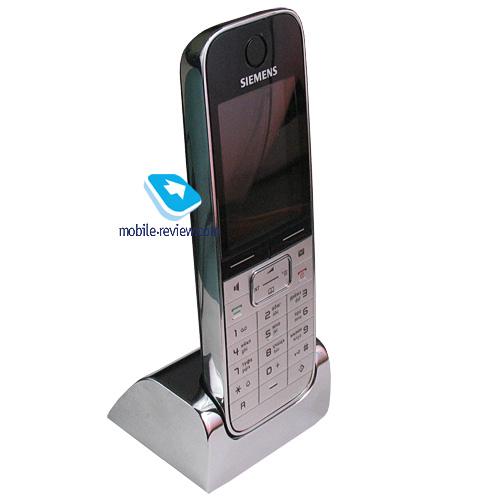 mobile gadget overview of dect phone siemens gigaset sl780. Black Bedroom Furniture Sets. Home Design Ideas