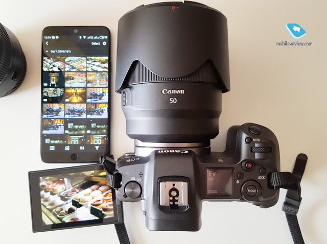 Мысли про Canon EOS R