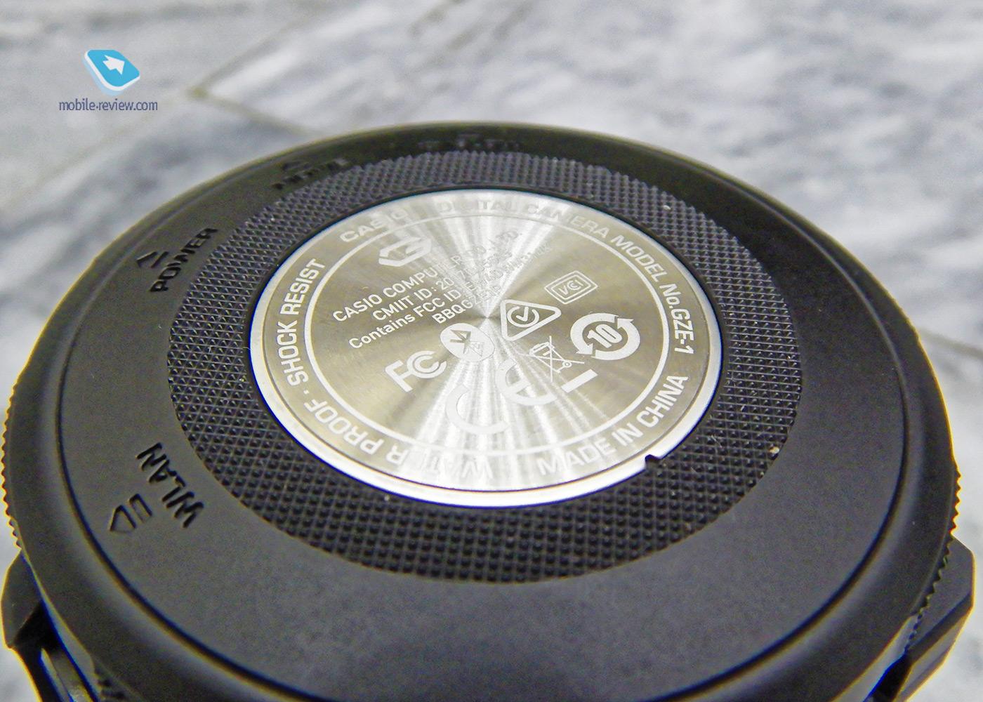Обзор экшн-камеры Casio G'zEye