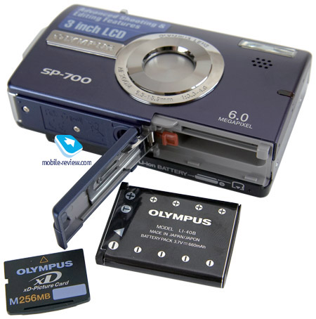 Обзор цифровой камеры Olympus
