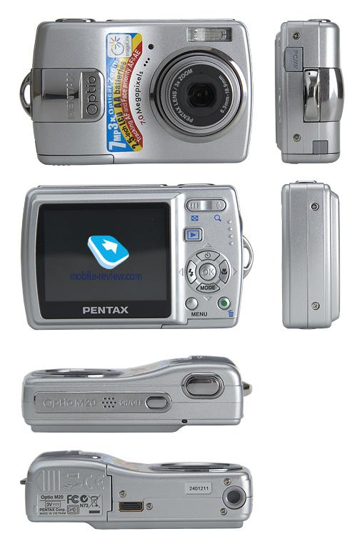 Обзор фотокамеры Pentax Optio M20