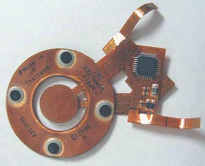 Видна микросхема контроллера