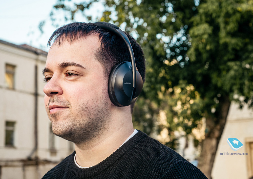 Обзор наушников Bose Noise-Cancelling Headphones 700