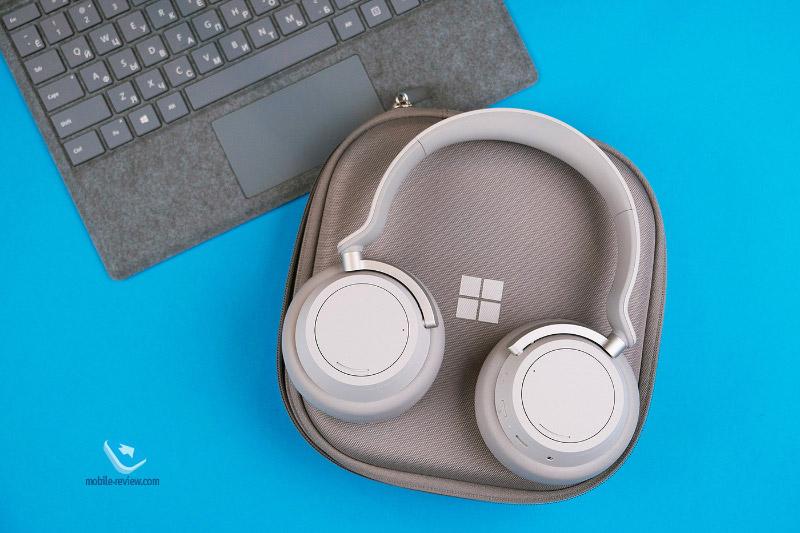 Обзор беспроводных наушников с шумоподавлением Microsoft Surface Headphones