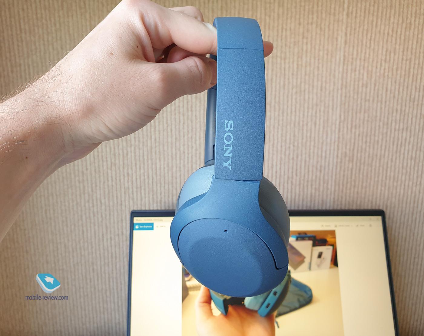 Наушники Sony WH-H910N h.ear on 3: когда красота требует жертв