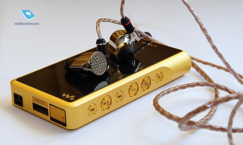 Обзор MP3-плеера Sony NW-WM1Z