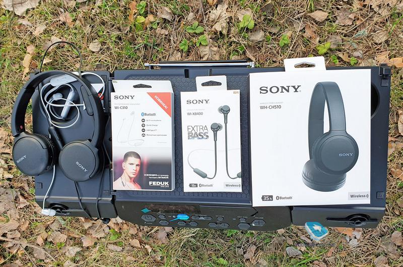 Про Xperia 5 и 3 пары доступных наушников Sony