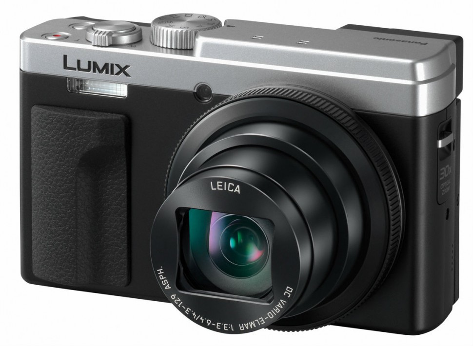 085-FY2018-Panasonic-LUMIX-TZ96-silber-slant-on