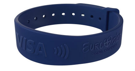 Visa Gemalto Eurovision bracelet