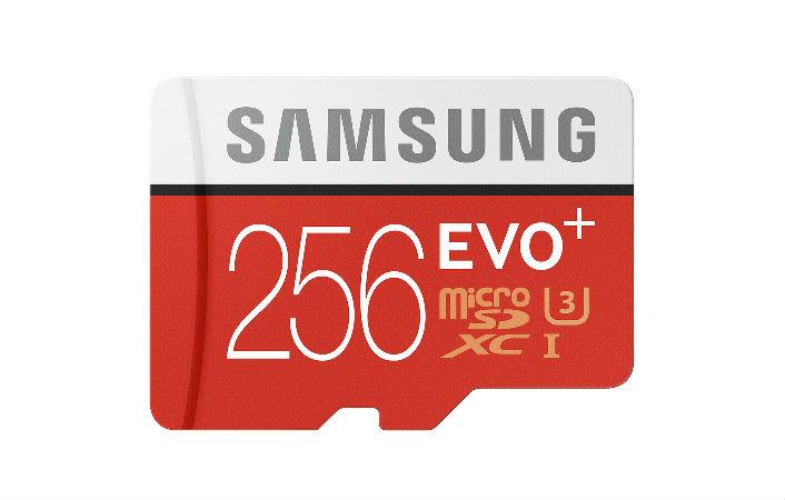 За карту памяти microSD Samsung Evo Plus объёмом 256 ГБ придётся отдать $250