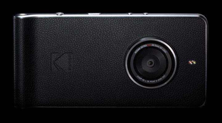 Kodak анонсировала смартфон Kodak Ektra встиле винтажных камер