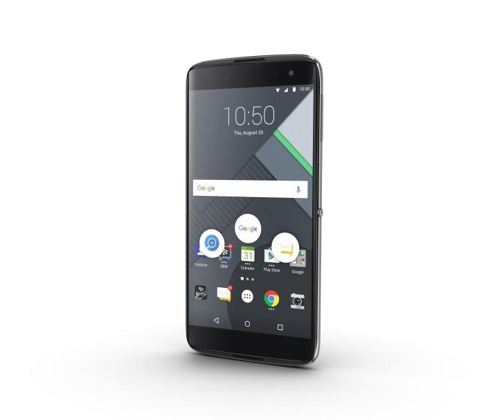 Флагман BlackBerry DTEK60 получил сканер отпечатков пальцев
