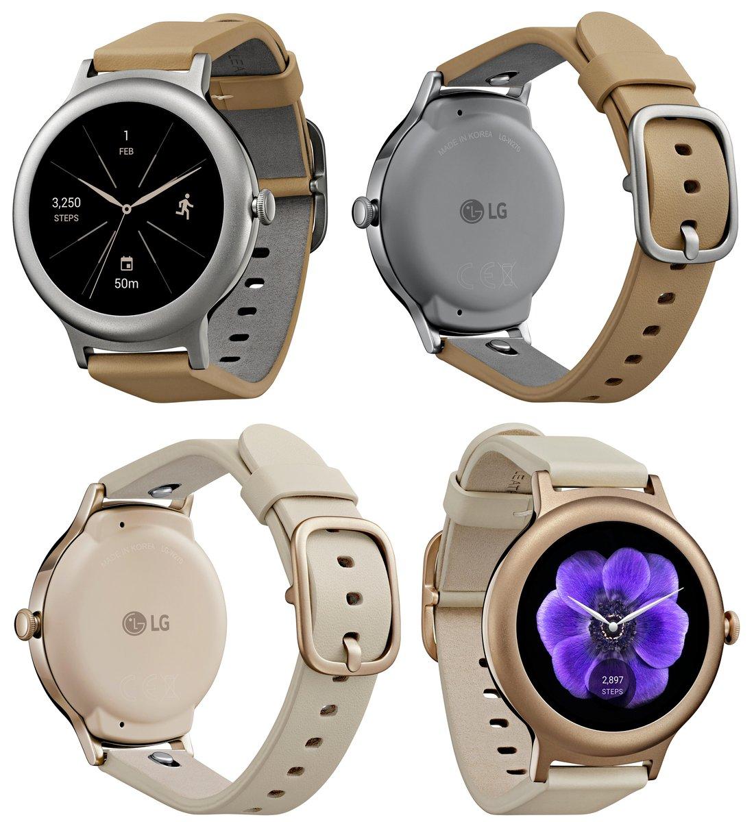 Озвучена начальная стоимость «умных» часовLG Watch Style