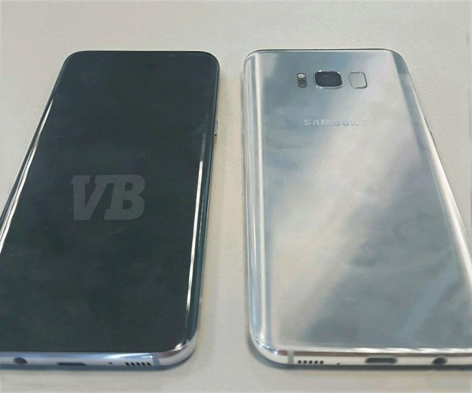 Винтернет попало новое изображение Самсунг Galaxy S8