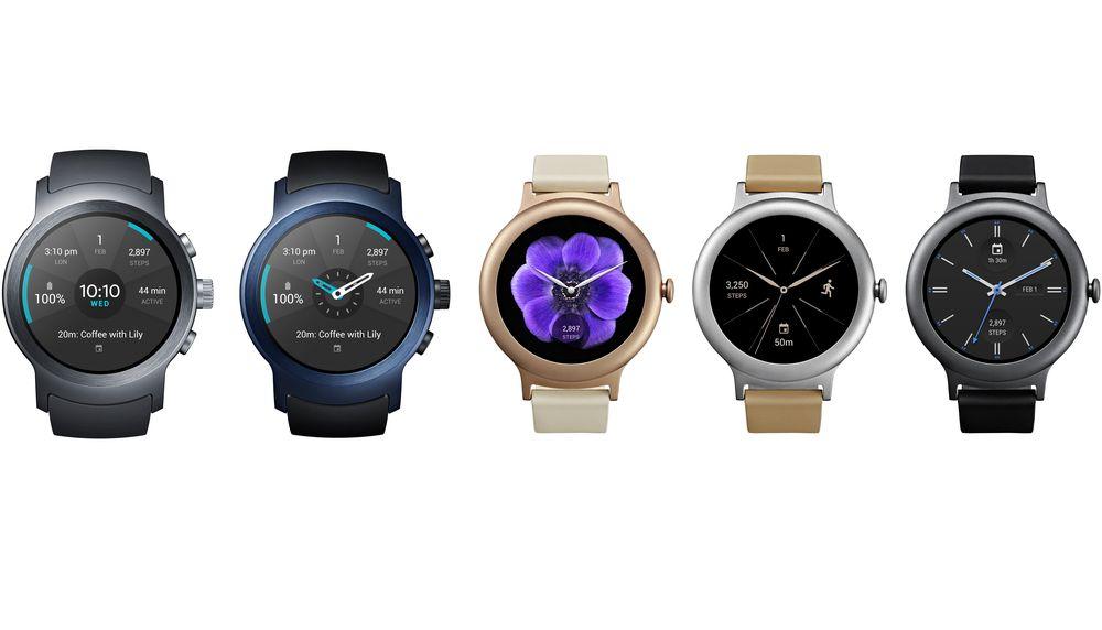 LG представила новые «умные» часы LG Watch Sport и LG Watch Style на ... c38c42b20688a