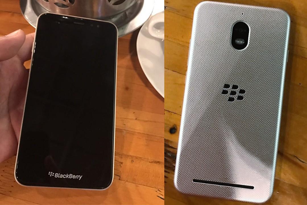 Первое фото неизвестного телефона BlackBerry