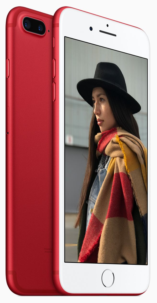 b3dd2b5e6afe Apple представила iPhone 7 и iPhone 7 Plus (PRODUCT)RED Special ...