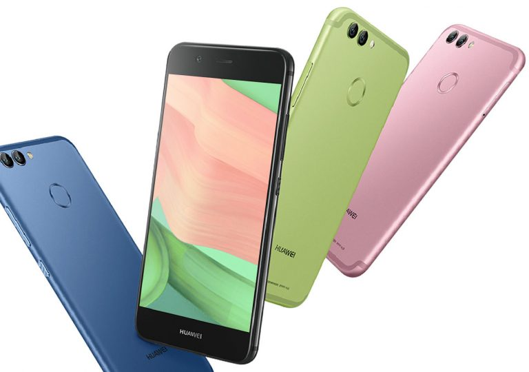 Представили мобильные телефоны Huawei Nova 2 иNova 2 plus cдвойной камерой