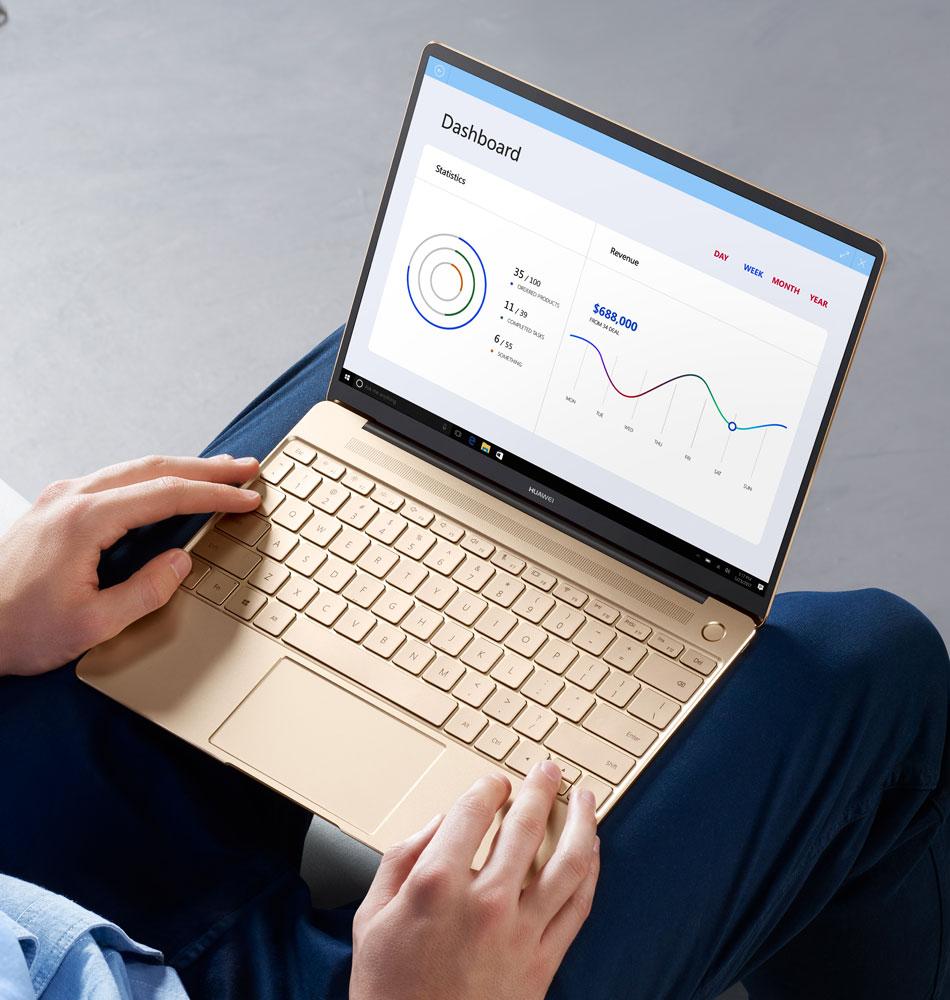 Huawei представила 15-дюймовый ноутбук MateBook D
