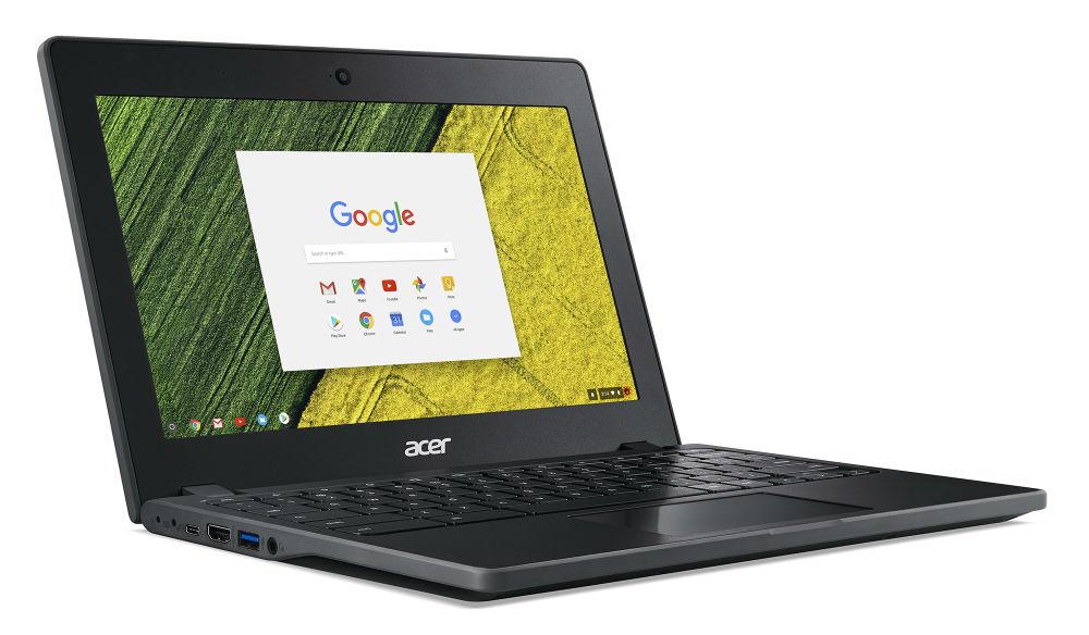 Acer представила защищенный хромбук подоступной цене Chromebook 11 C771