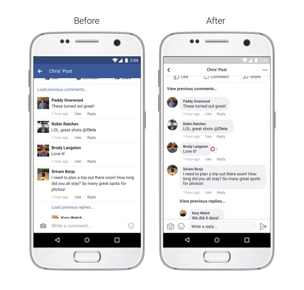 facebook-newlook