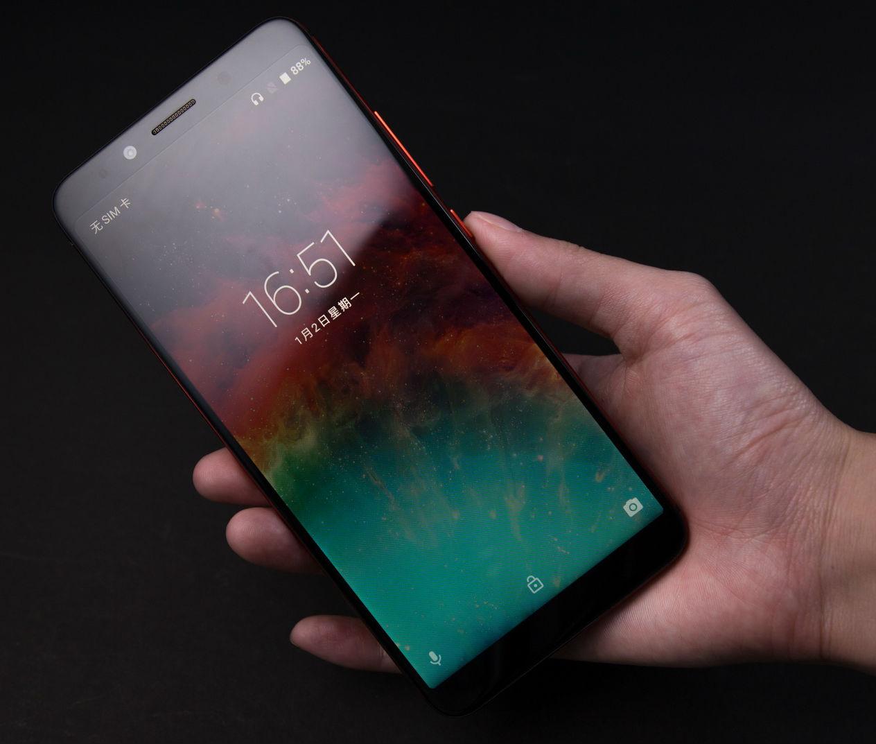 Компания UmiDigi выпустит безрамочный смартфон сбатареей емкостью 6000 мАч