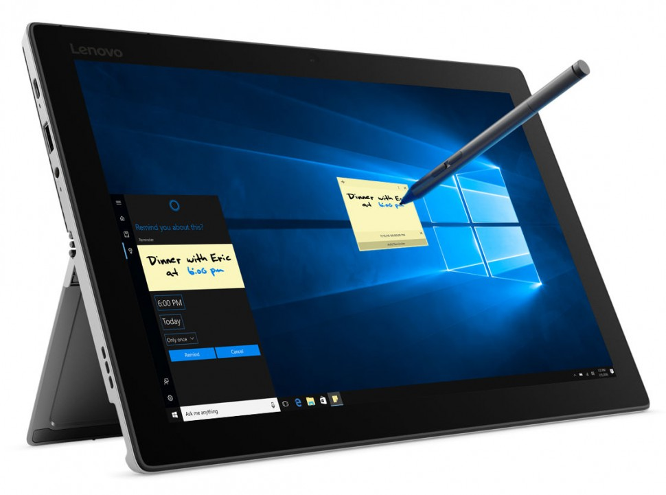 Write draw or sketch on Miix 520 with Windows Ink_platinum