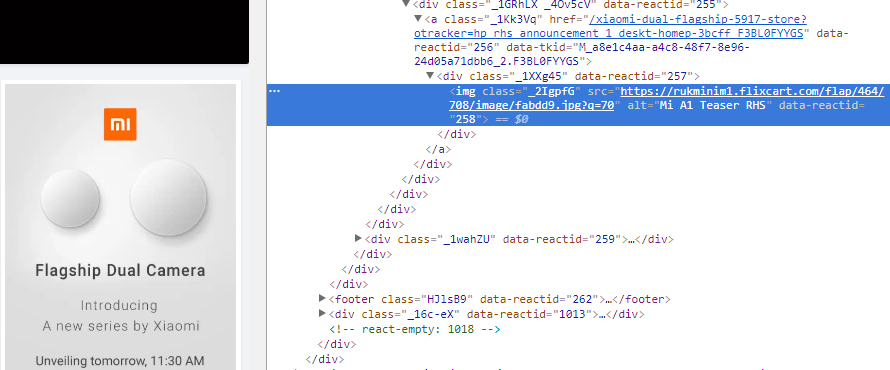 Xiaomi-Mi-5A1-Flipkart-Source-Code