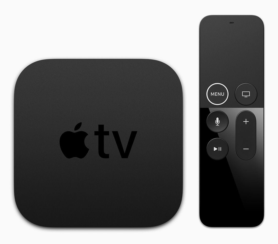 Представлена телеприставка Apple TV с поддержкой 4K