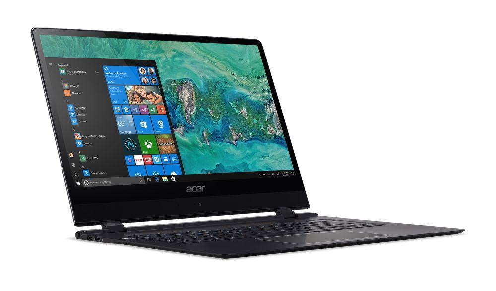 Компания Acer представила самый тонкий ноутбук вмире, Swift 7