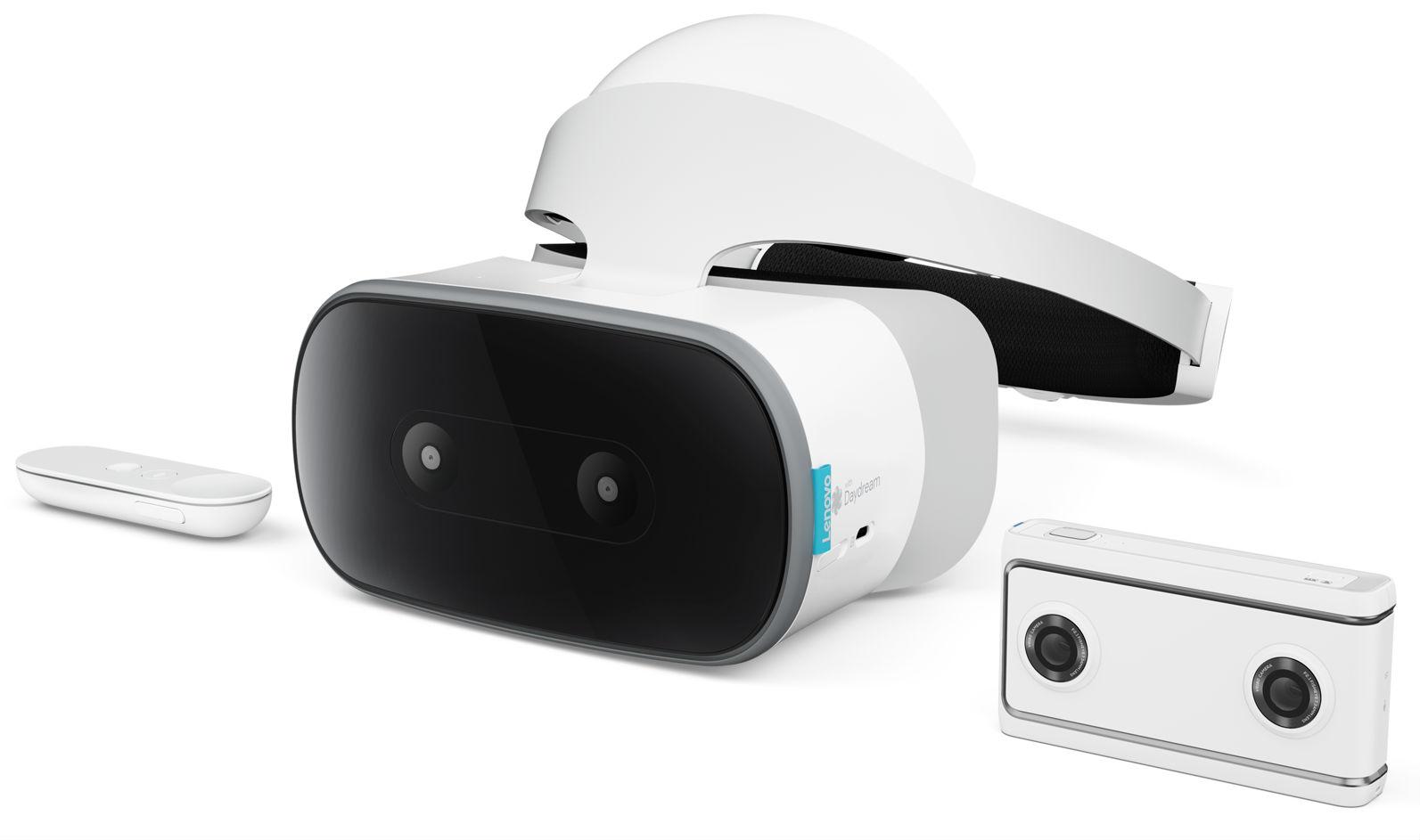 Lenovo выпустит автономный VR-шлем истереокамеру впартнерстве сGoogle