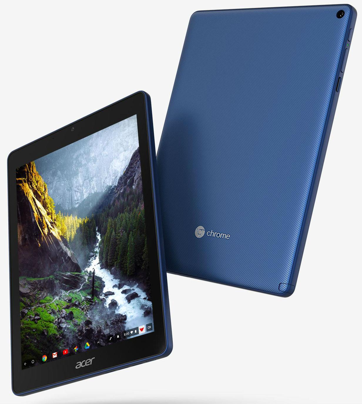 Acer презентовала 1-ый вмире планшет набазе системы ChromeOS