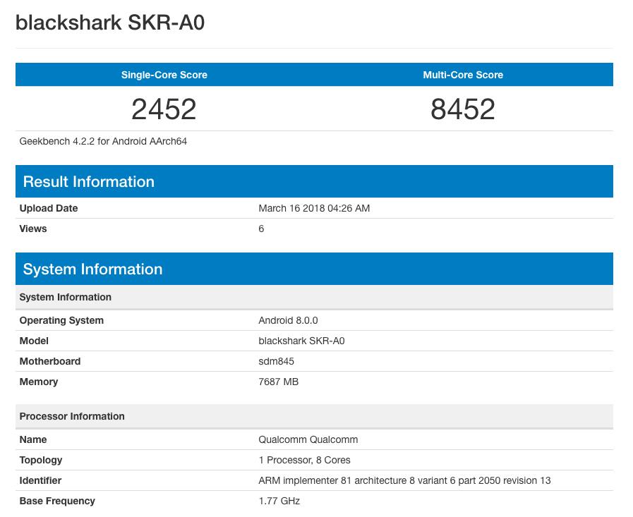 Blackshark-SKR-A0-Geekbench