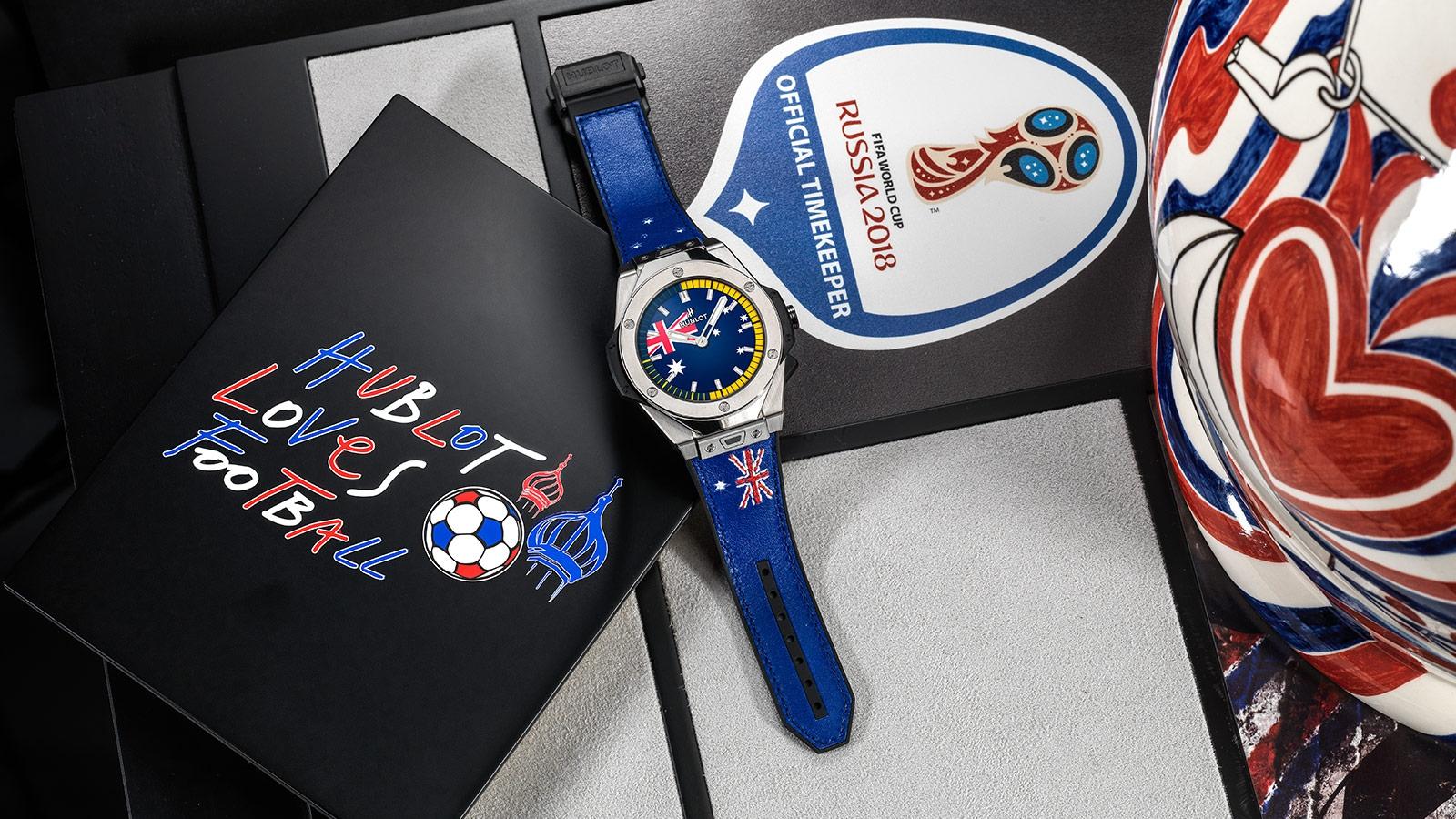 Тем не менее, новые часы hublot big bang referee fifa world cup russia™, разработанные для арбитров грядущего мундиаля, оценит каждый болельщик.