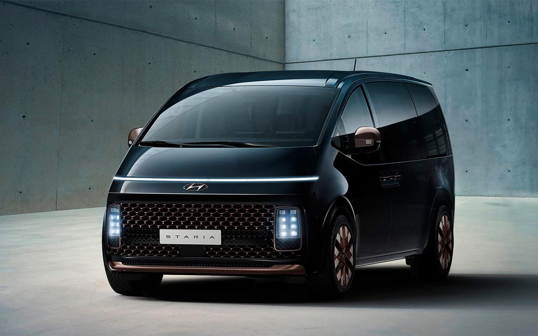 Hyundai показала минивэн с космическим дизайном