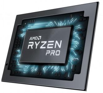 AMD Ryzen PRO Mobile Chip Shot - Left