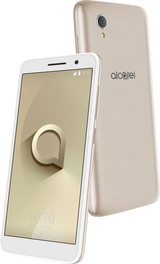 Alcatel 1_Metallic Gold_Packaging view