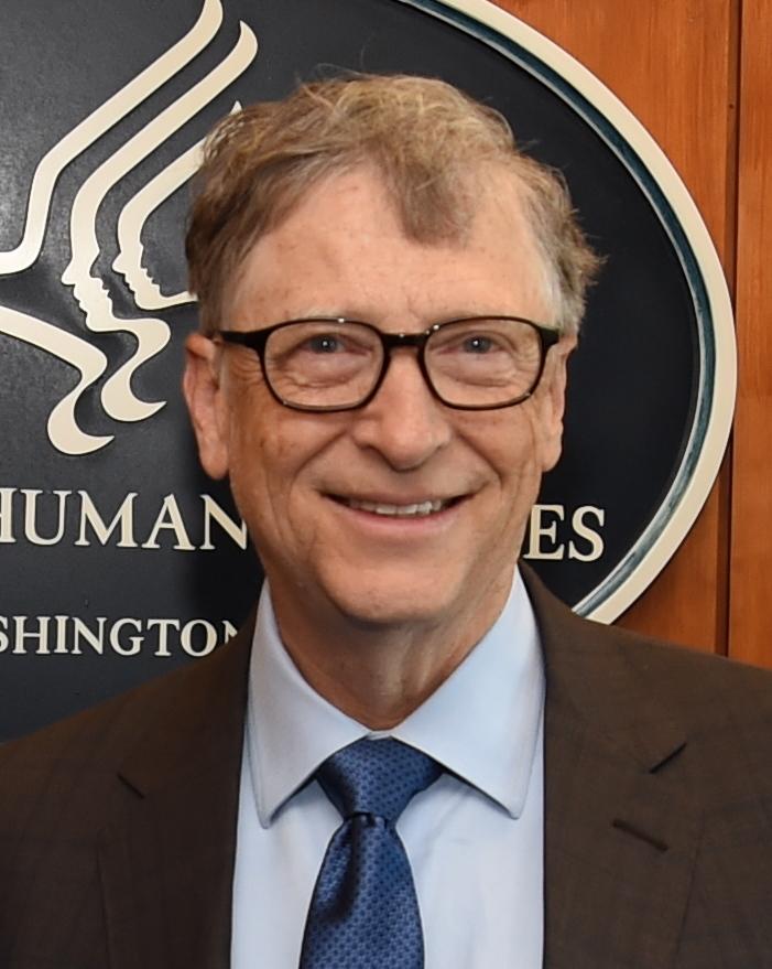 Secretary Alex Azar and Bill Gates