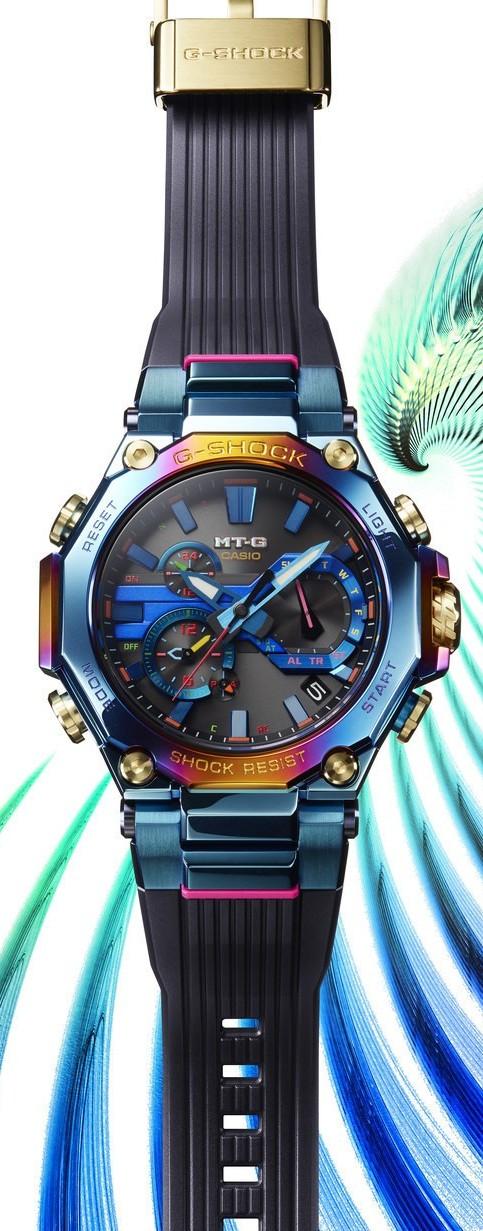 Casio выпускает новые часы MT-G, вдохновленные красотой Голубого Феникса