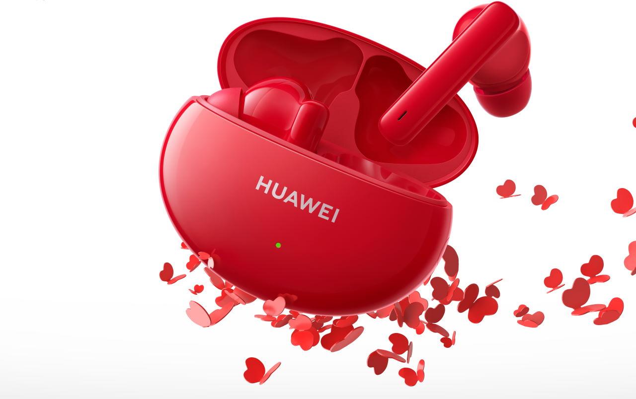 Huawei представила в России свои беспроводные наушники FreeBuds 4i