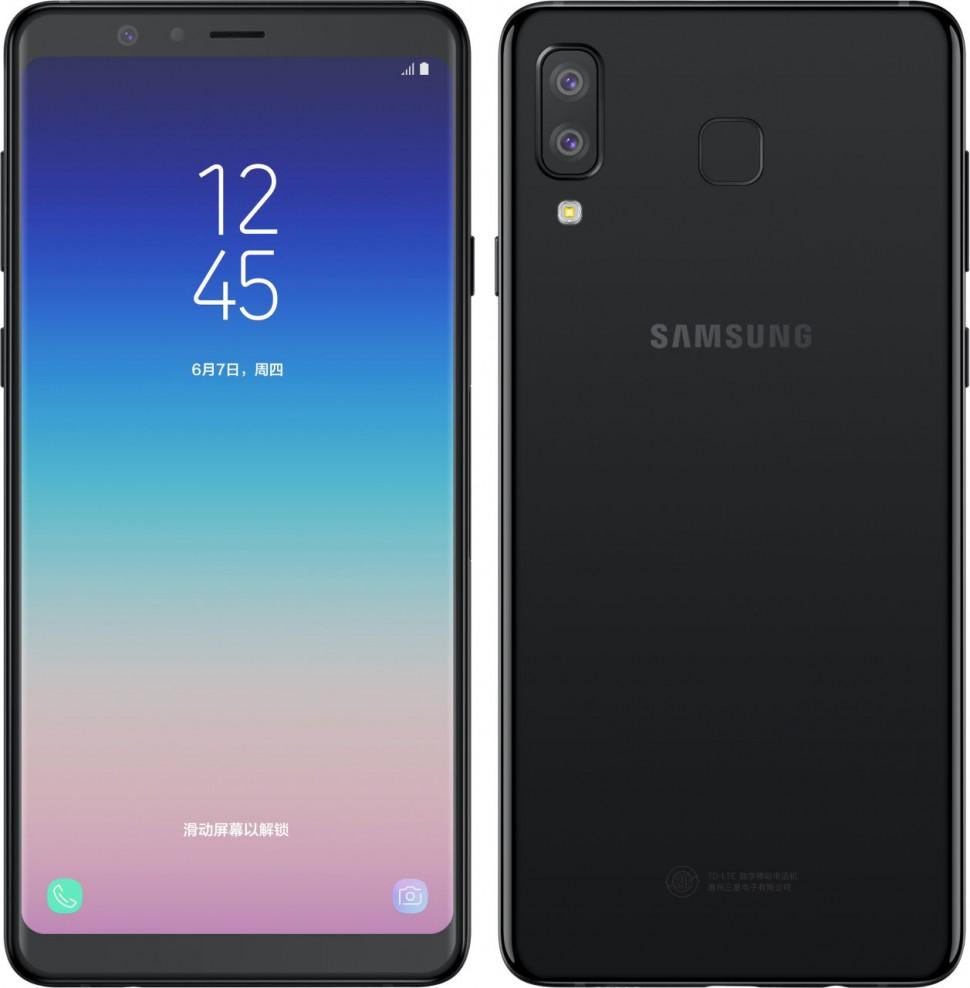 Galaxy A8_Black_6 (1)